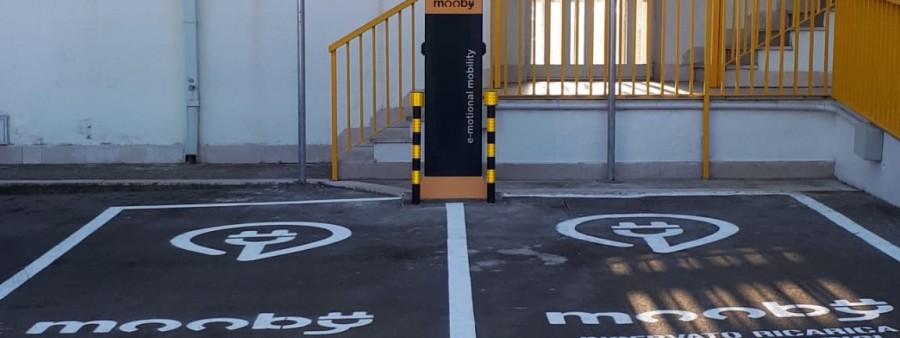 Stazione Ricarica auto elettrica